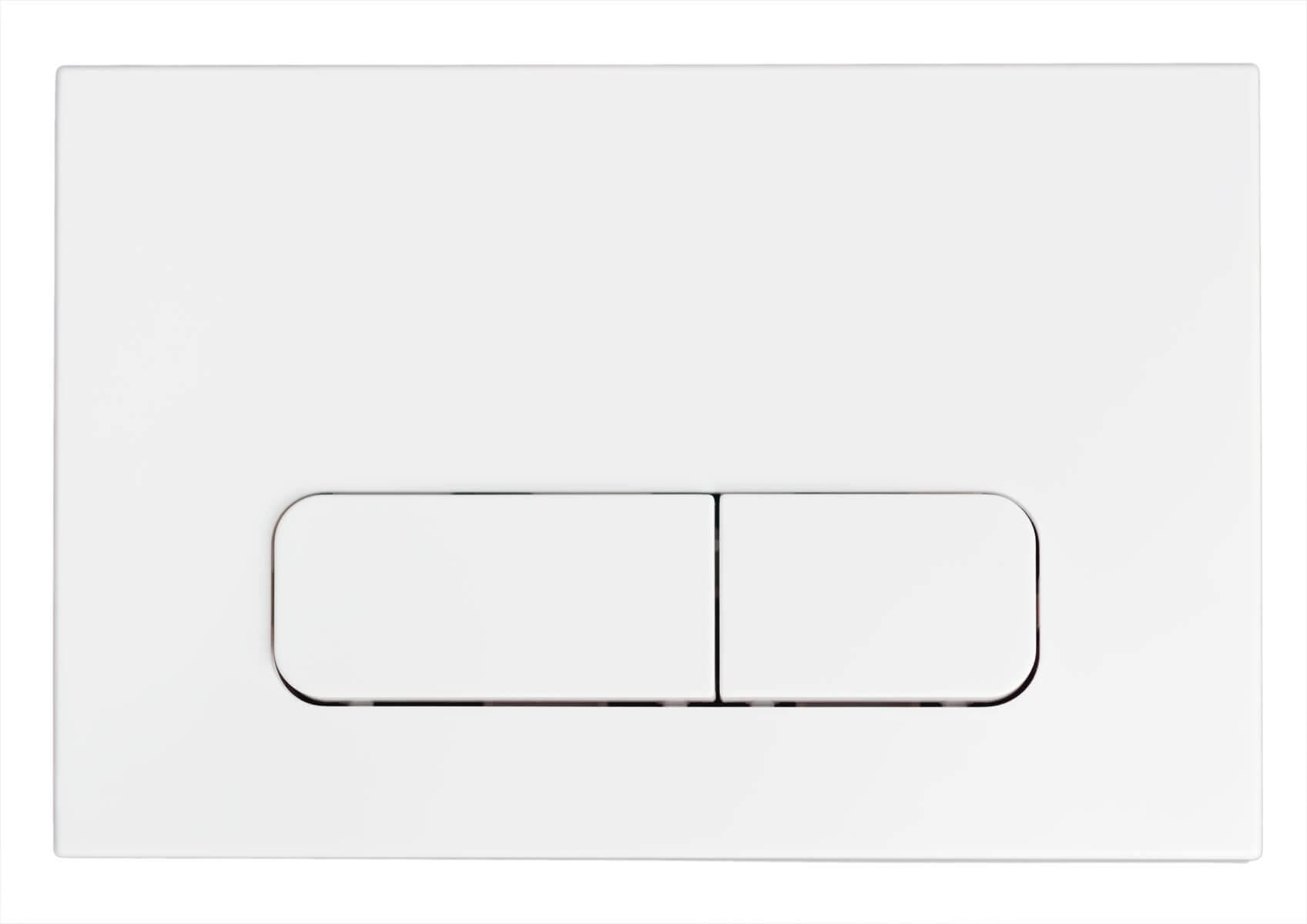 FlushPlates.com White Tempered Glass Flush Plate to Fit Geberit Sigma UP320//UP720 Cisterns